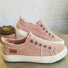 Dusty Pink Hipster Blowfish Shoes