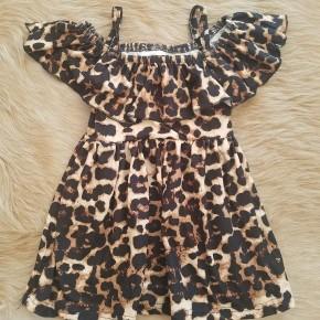 Girls Leopard Dress