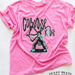 Youth Pink Caboose Kids Tee
