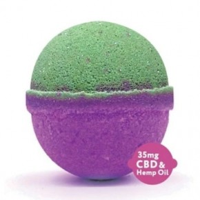 Peace & Love- 5 oz CBD Bath Bomb