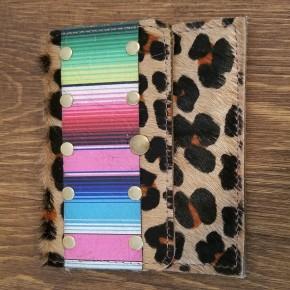 Flora Serape Leopard Small Wallet