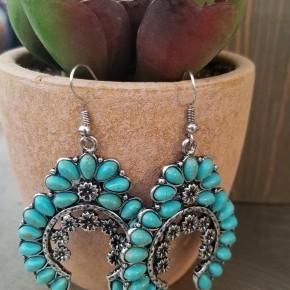 Beautiful Squash Blossom Earrings