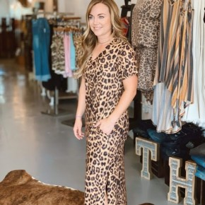 Take it to the Max Leopard Dress