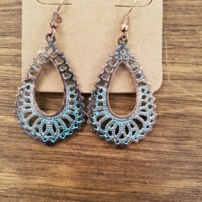 Patina Abstract Earrings