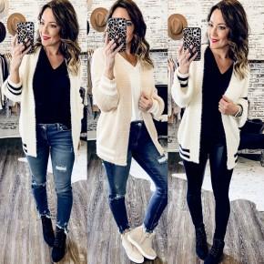 Varsity Sweater Cardigans- 2 Colors