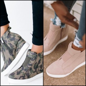 Sneaker Wedges are BACK - 2 NEW colors