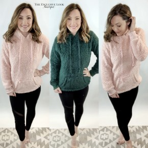 Soft Hooded Pullovers- 2 COLORS