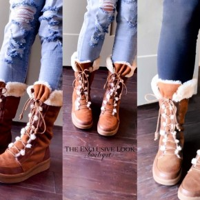 Warm & Cozy Fur Lined Boots