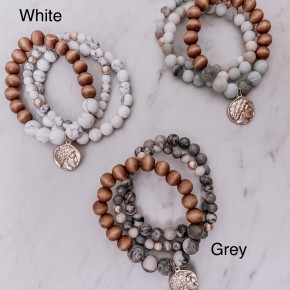Stackable Bracelets - 3 COLORS