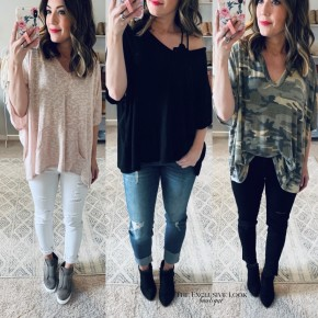 Hooded Front Pocket Top- 3 COLORS