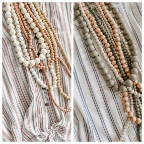 Multi Layer Beaded Necklaces- 2 COLORS