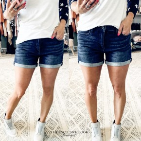 Market Denim Shorts