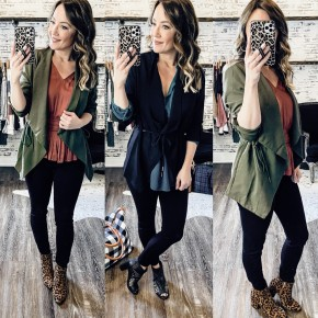 The PERFECT Layering Jacket- 2 COLORS