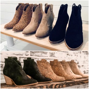 New Fall Booties - 3 Colors