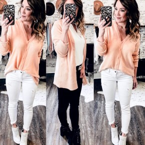 Blush Cardi/Top Sweater