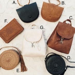 NEW BAGS!- 7 OPTIONS