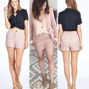 Quinn Linen Shorts
