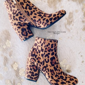 Encore Leopard Booties