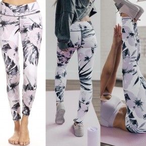Give It All You've Got Print Leggings