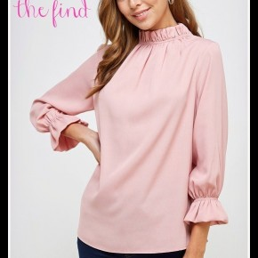 Betsy Top in Blush