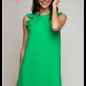 Zoe Dress in Green