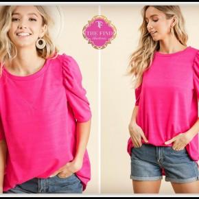 Poppy Top in Pink