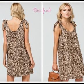 Jackson Leopard Dress