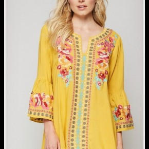 Brye Embroidered Top