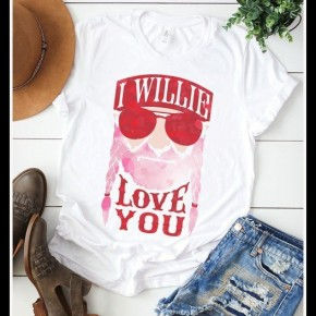 Willie Love You Tee