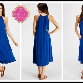 Taylor Dress in Blue