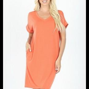Allison Dress in Copper