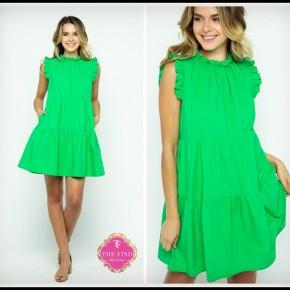 Juliet Dress in Green