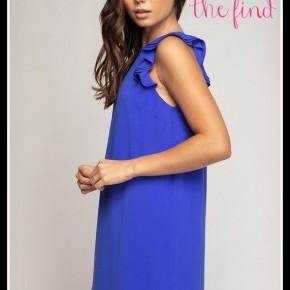 Zoe Dress in Cobalt
