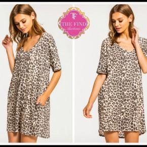 Becca Leopard Dress