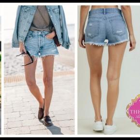 Hager Jean Shorts