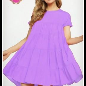 Bradley Dress in Lavender