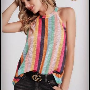 Livvy Striped Top ~ Pre-Sale