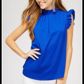 Maggie Top in Blue