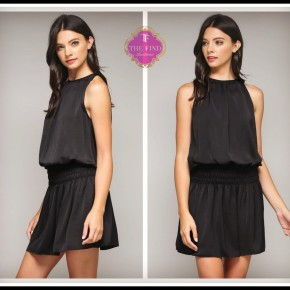 Beller Dress in Black
