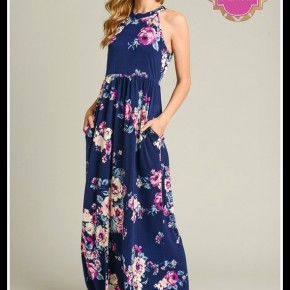 Mandy Floral Maxi
