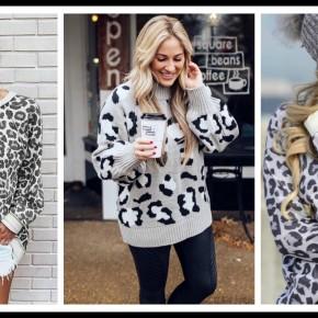 James Leopard Sweatshirt