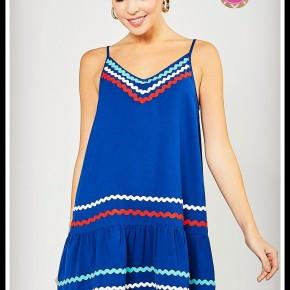 Maren Dress in Blue