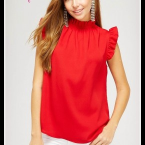 Maggie Top in Red