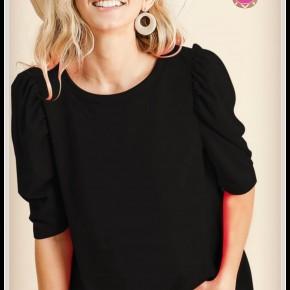 Poppy Top in Black