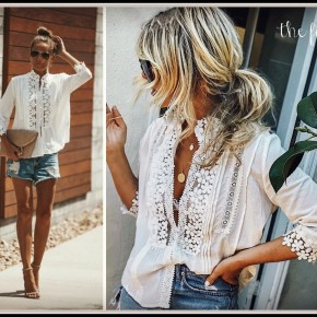 Wilson Top in White