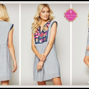 Mandy Embroidered Dress