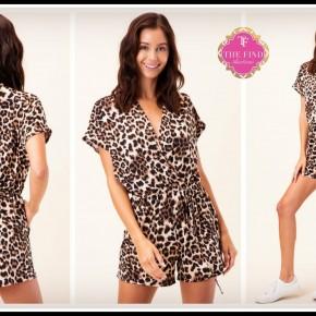 Cooper Leopard Romper