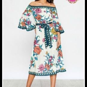 Audrey Floral Dress
