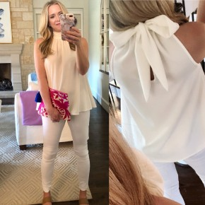 Lainey Top in White