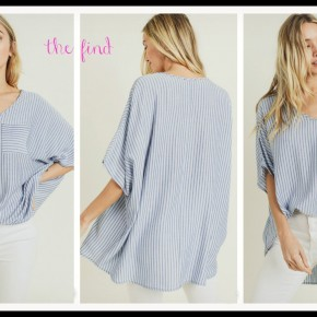 Lily Top in Stripe